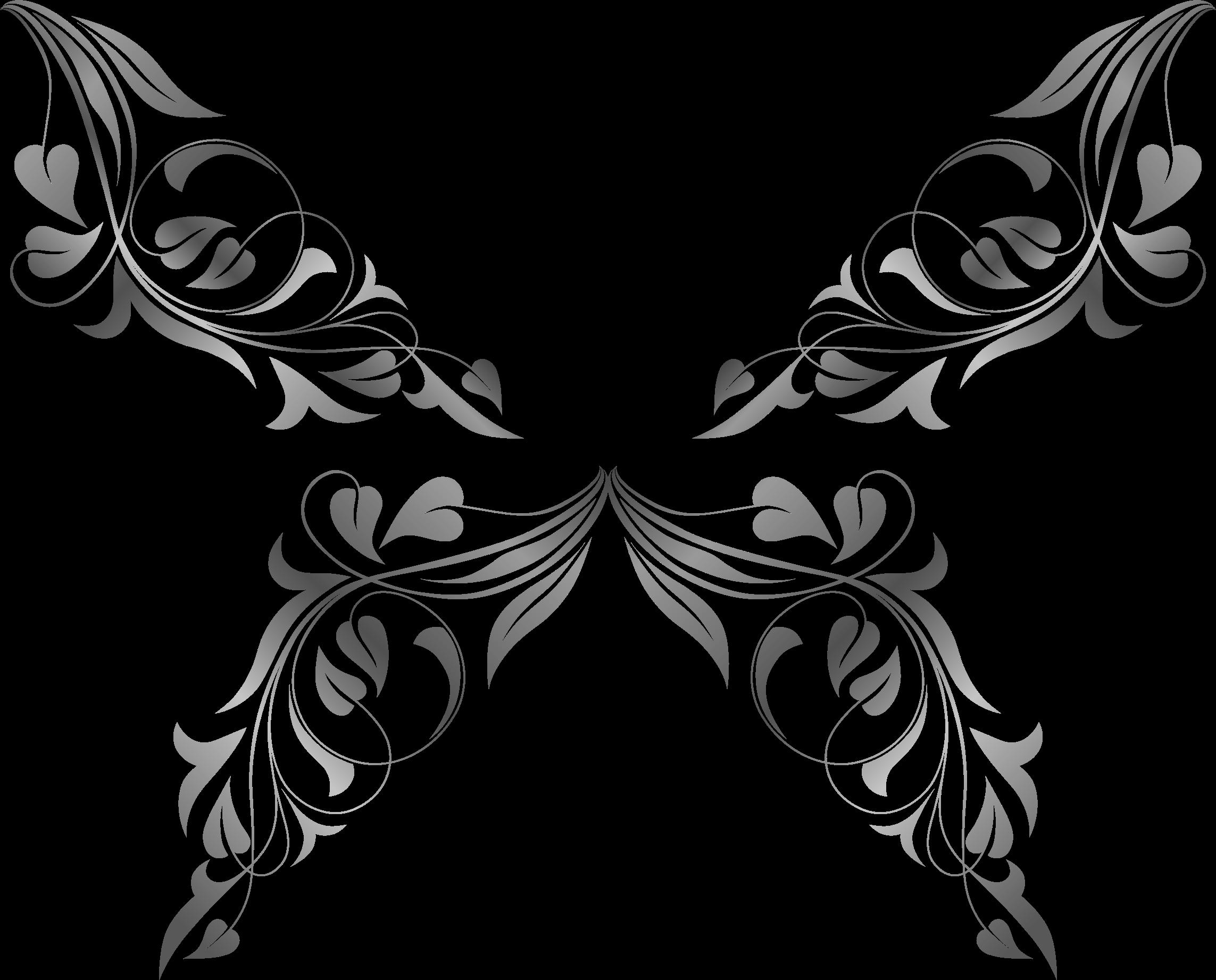 Butterflies clipartblack com animal. Flourish clipart butterfly