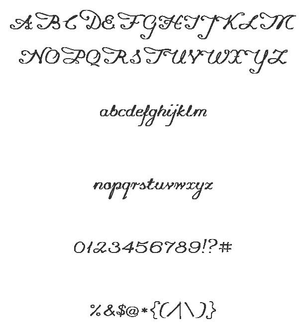 Flourish clipart chalk. Promocyja sample fonts flourishes