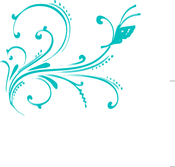 Flourishes clipart design line. Green flourish clip art