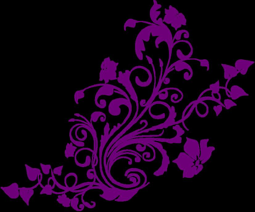 Flourish clipart elegant flower. Silhouette at getdrawings com