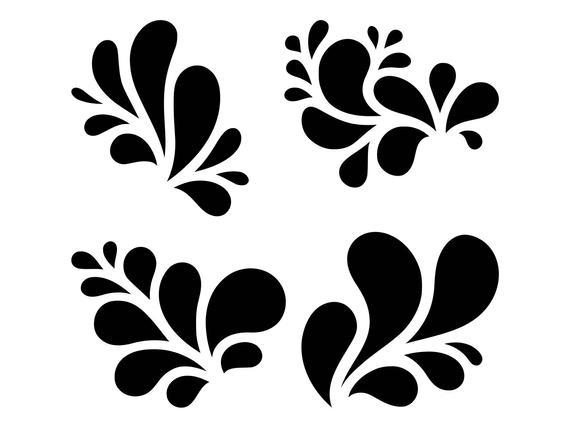 Svg victorian ornament swirl. Flourish clipart embellishment