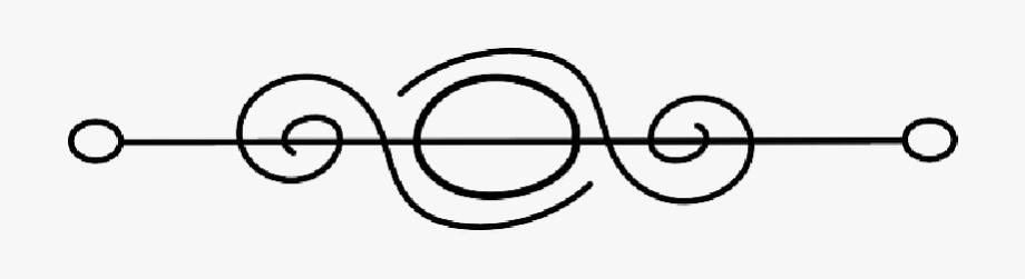 Flourish clipart fancy symbol. Page break png free