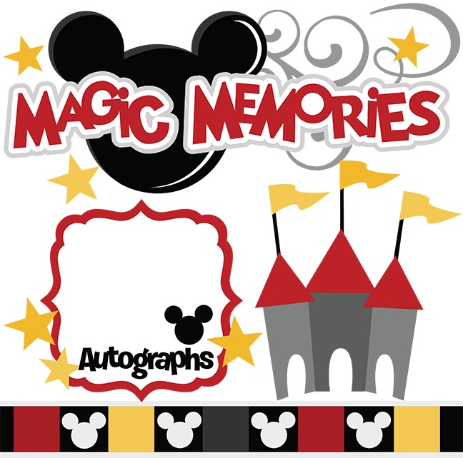 Memories clipart summer memories. Magic svg cut files