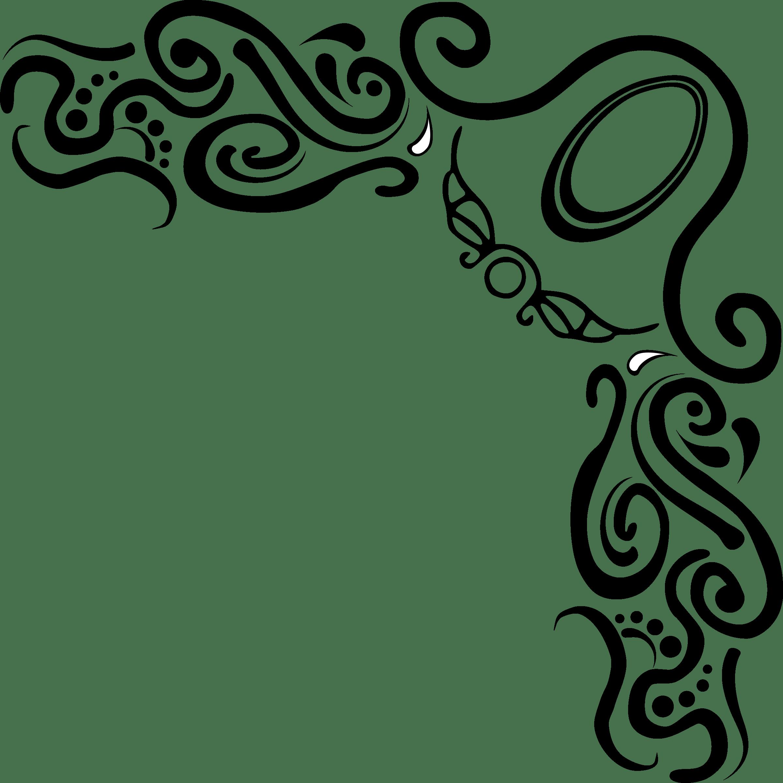 Flourish clipart fleurish. Corner clip art prediksi
