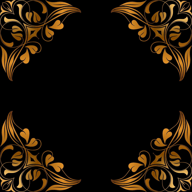 Flourish clipart flower decoration. Floral frame big image
