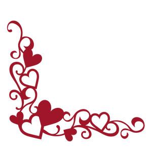 Flourishes clipart heart. Silhouette design store view