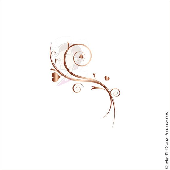 Pin on vintage frames. Flourishes clipart heart