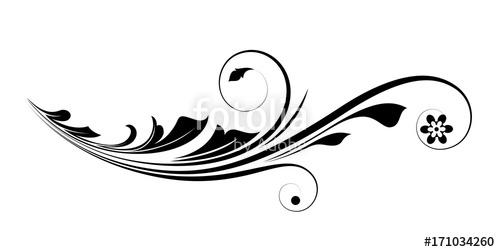 Flourish clipart modern. Vector design stock image