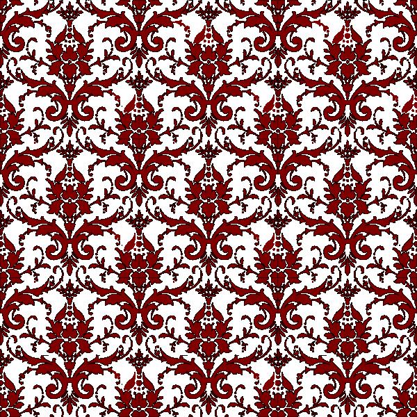 Maroon clip art at. Flourish clipart red damask