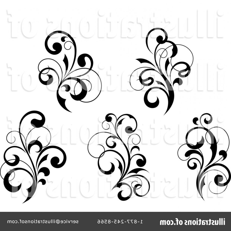 Flourishes clipart long. Royalty free flourish illustration