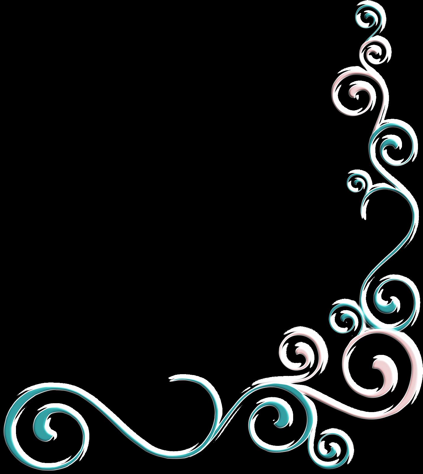 Patterns border designs scroll. Flourish clipart whimsical