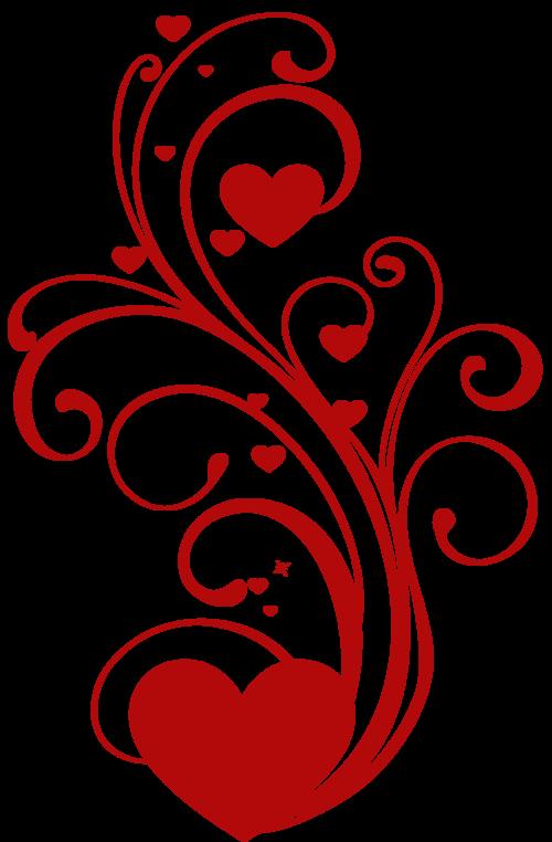 Flourish clipart whimsical. Tubes st valentin pinterest