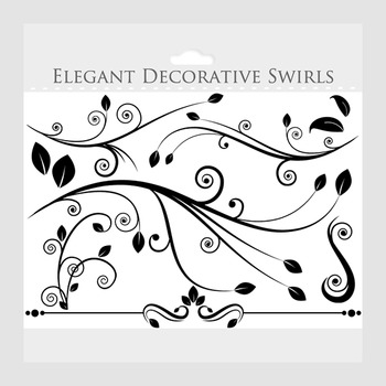 Decorative flourish clip art. Flourishes clipart