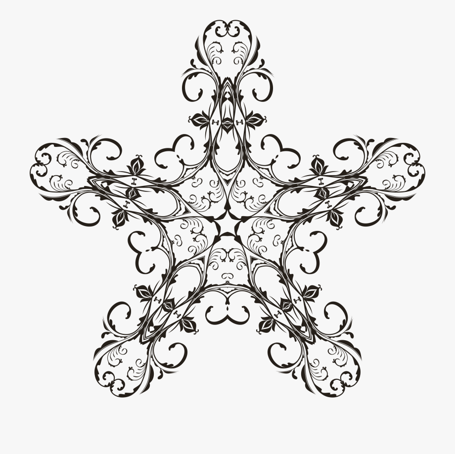 Floral flourish art free. Flourishes clipart design line