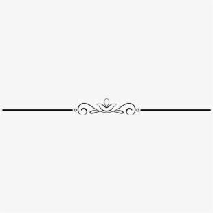 Flourishes clipart pretty line. Elegant art free