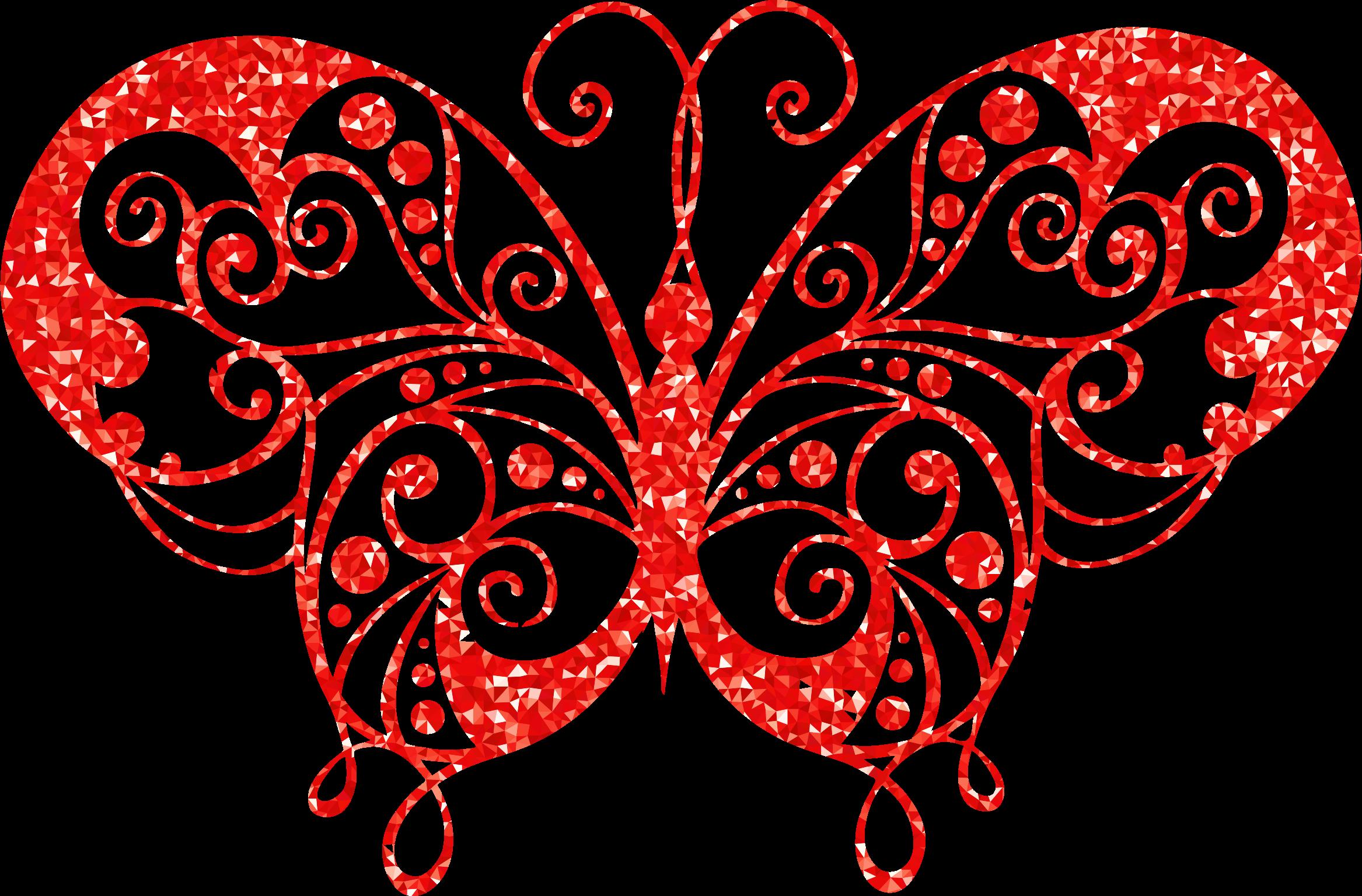 Ruby high detail flourish. Flourishes clipart red swirl