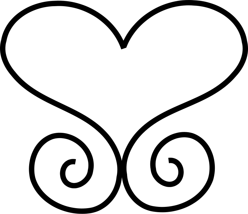 Flourishes clipart scrollwork. Scroll being held free