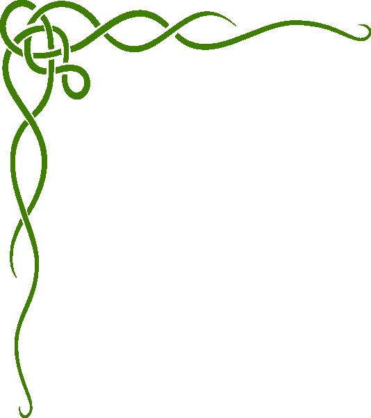 Corner scroll clip art. Flourishes clipart scrollwork