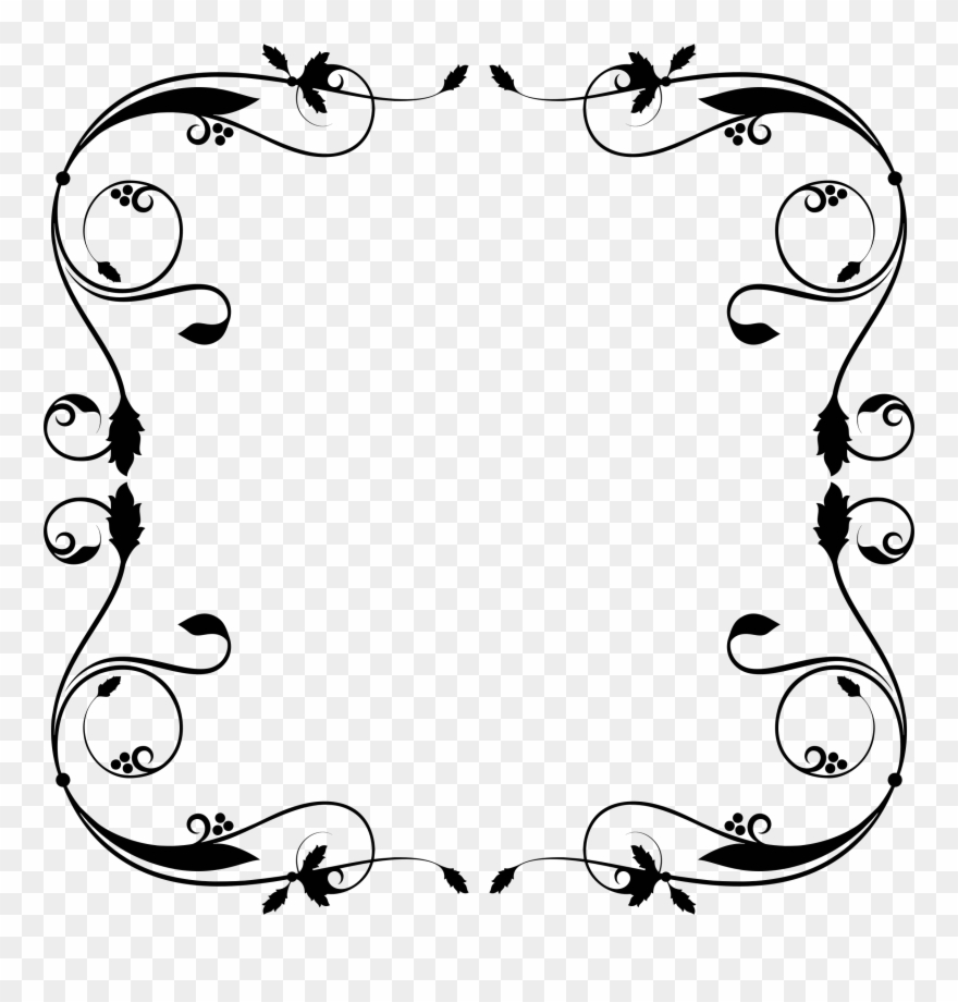 Free download simple flourish. Flourishes clipart side