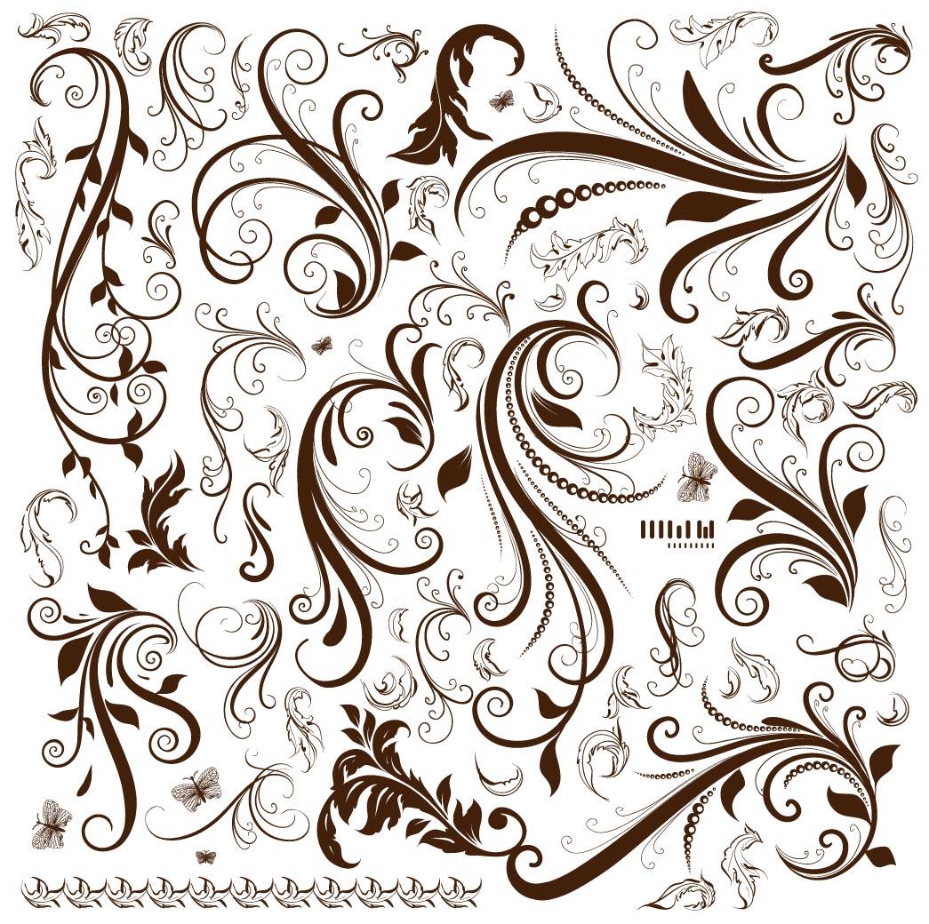 Flourishes clipart vector clipart. Free flourish download clip