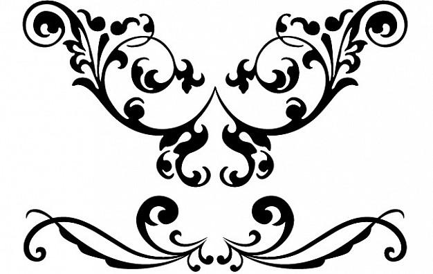 Free download clip art. Flourishes clipart vector clipart