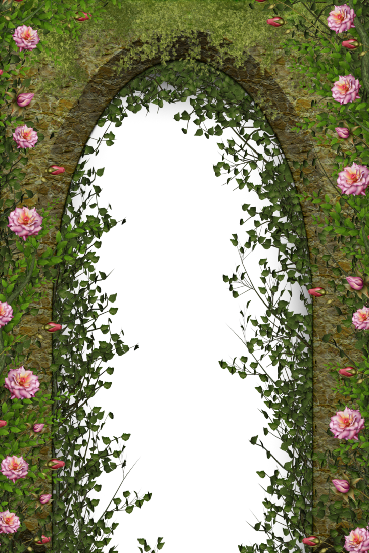 Floral by collect and. Flower arch png