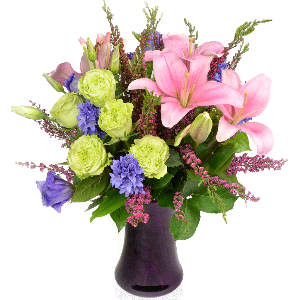 Flower arrangement png. Tender heart designed by