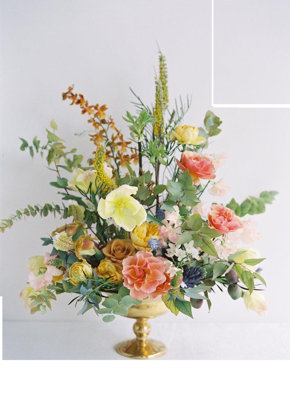Principles of design online. Flower arrangement png