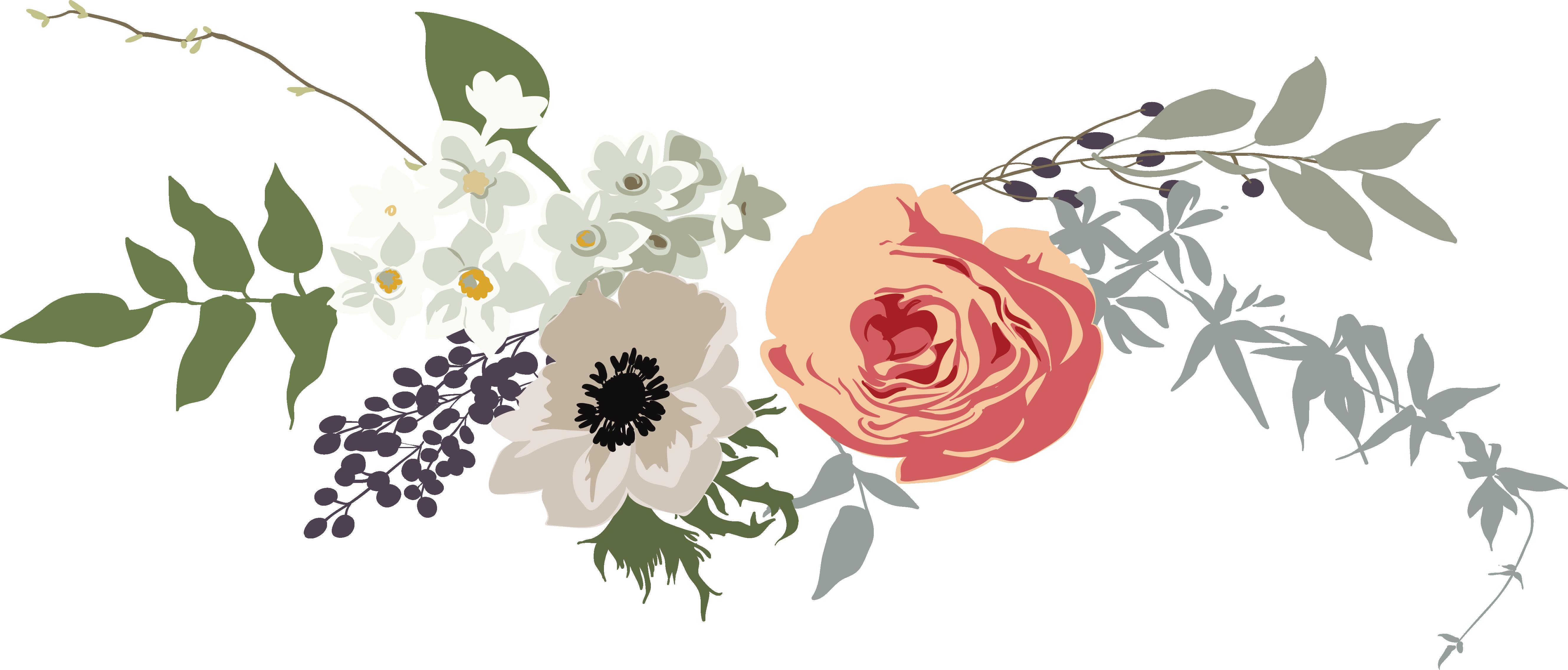 Flower banner png. Fine box transprent free