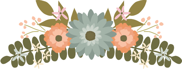 clip black and. Flower banner png