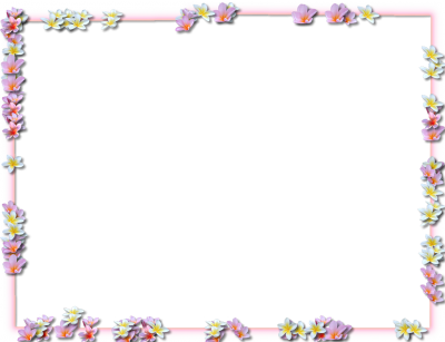 Flower borders png. Download flowers free transparent