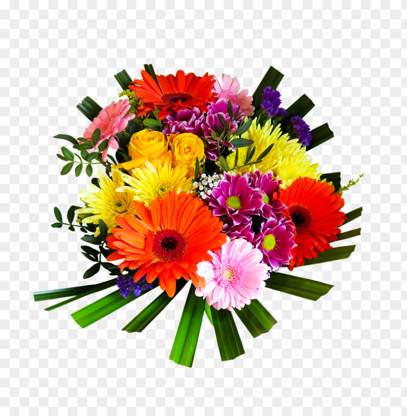 Flower bunch png. Bouquet of flowers free