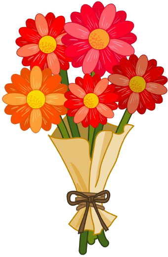 Flower bunch png. Red by hanabell on