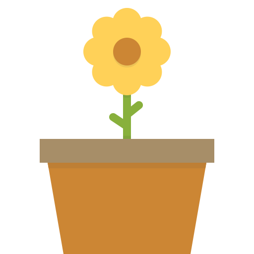 Icon ico . Flower cartoon png
