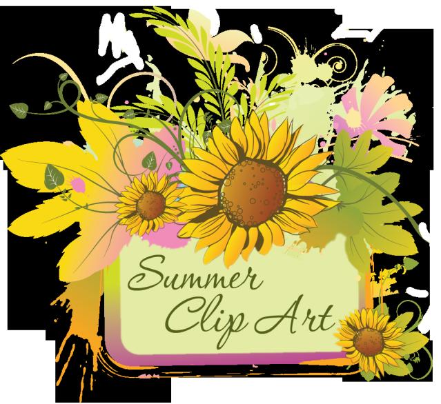 Web design development clip. Flower clipart beach