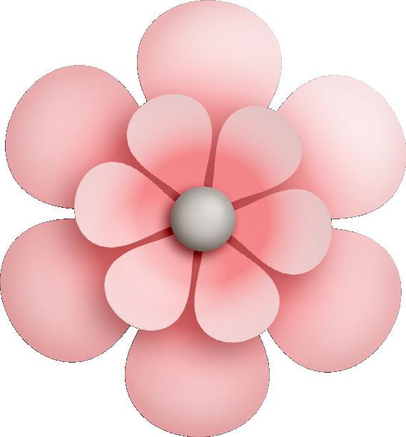 Flower clipart card. Fairy dust flowers clip