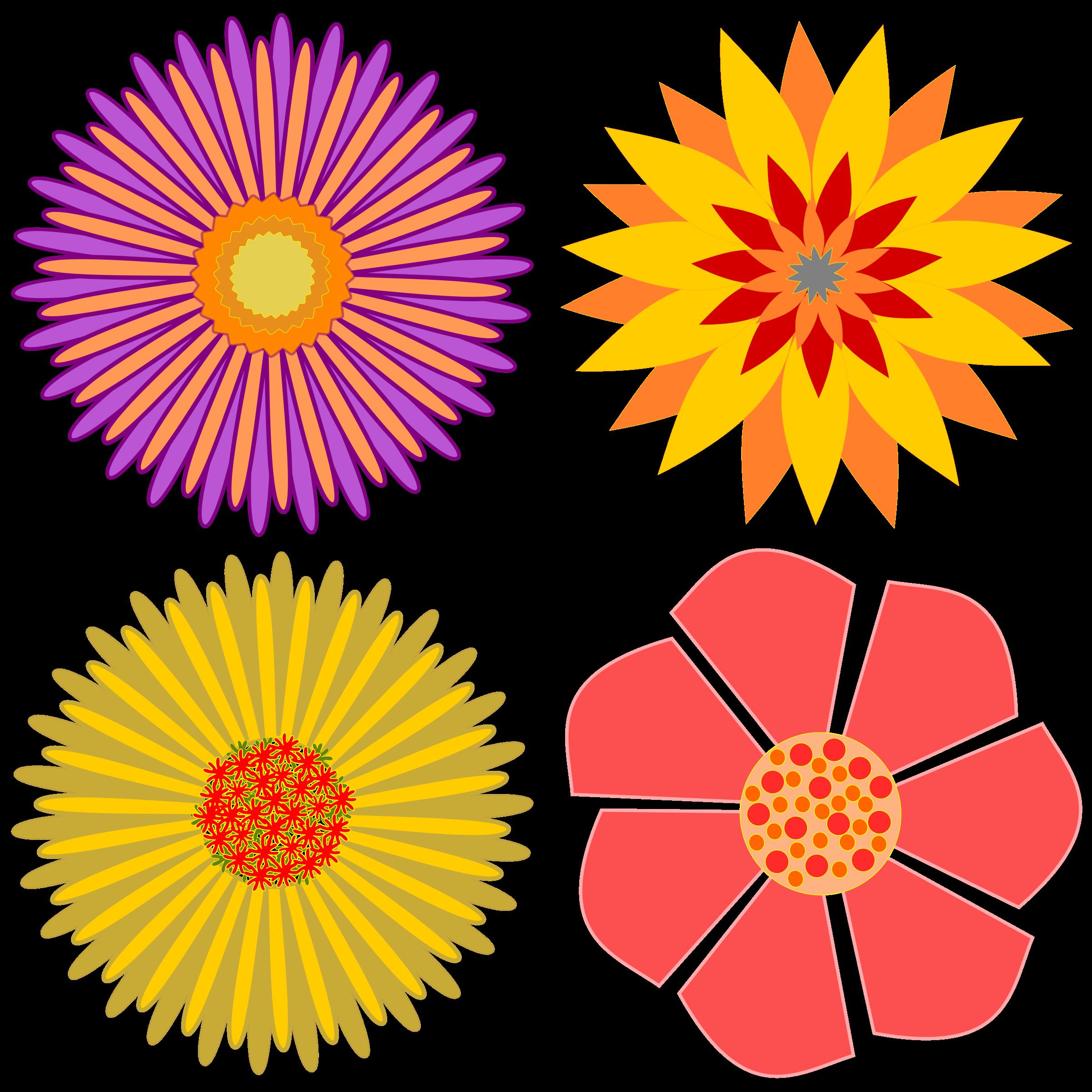 Flowers pinterest. Flower clipart chalkboard