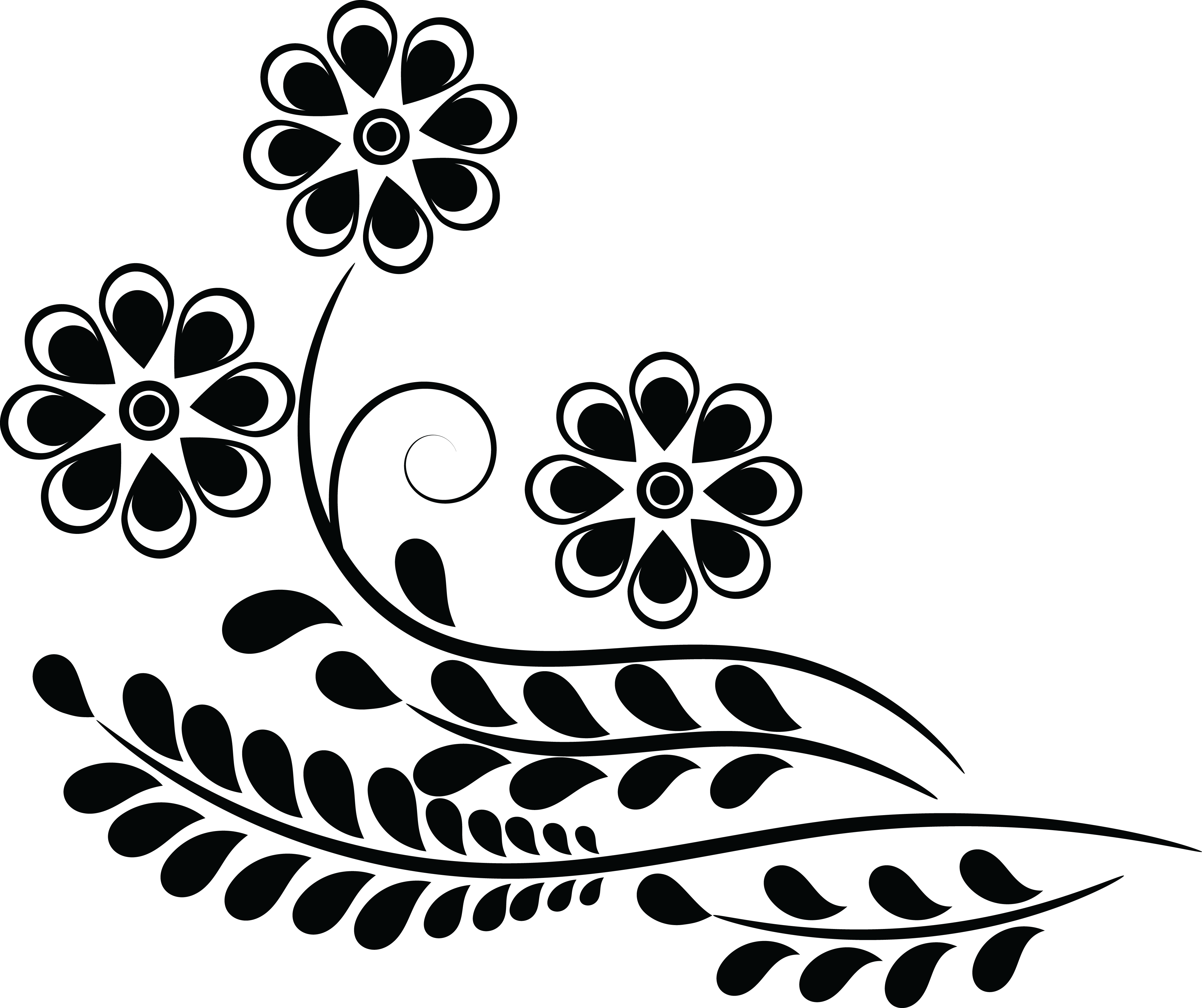 collection of png. Flower clipart design
