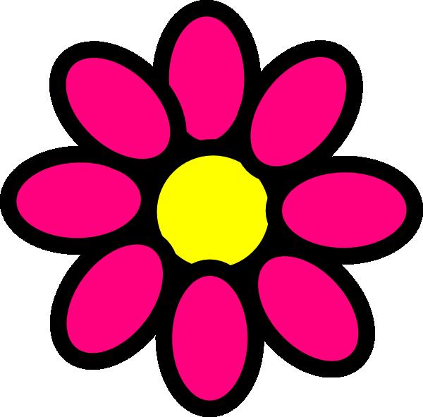 Flowers clipart face. Pink flower hi png