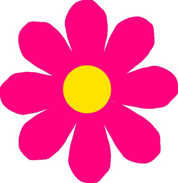 Dahlia flower clip art. Pink clipart sunflower