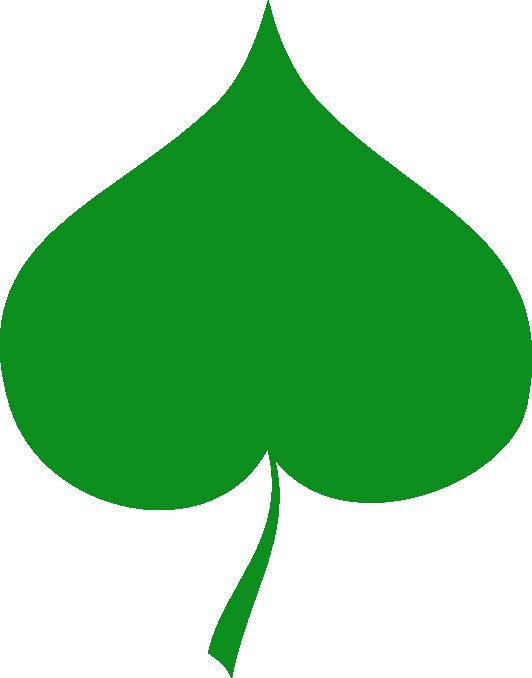 Leaf clip art images. Flower clipart leaves
