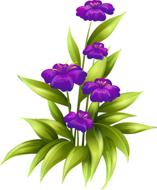 Flower clipart logo. Fleurs tube flowers png