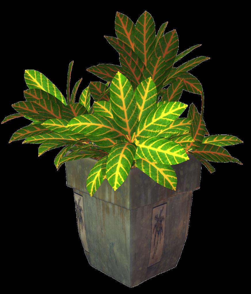 R garden potplant png. Flower clipart planter