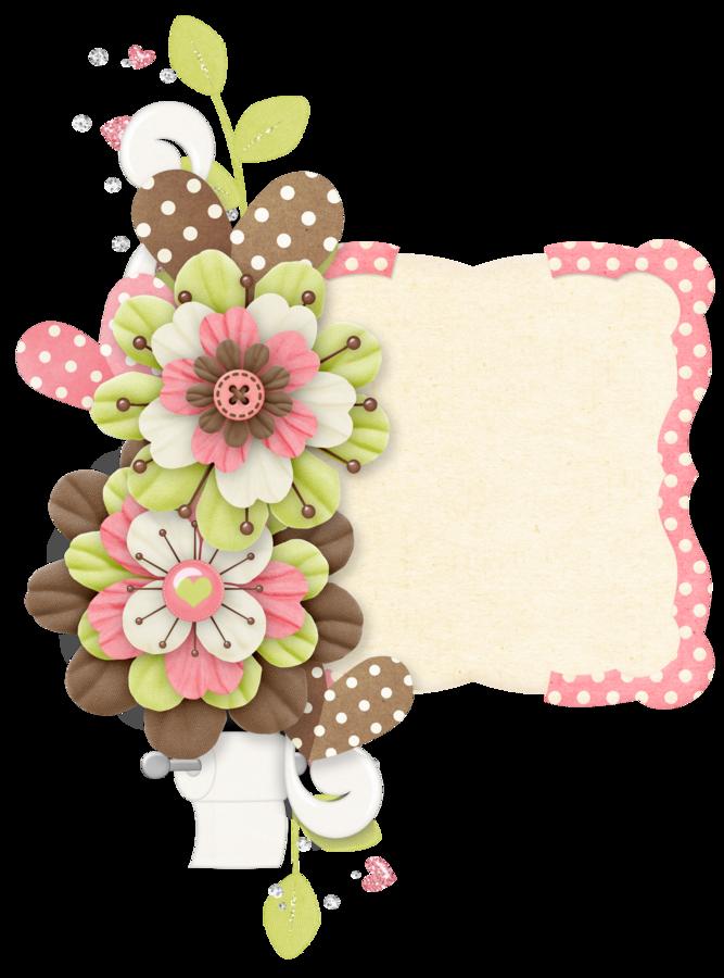 Rosimeri andrade pottyanimalgirlclusters spring. Flower clipart scrapbook