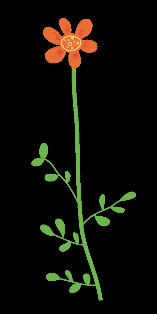Onlinelabels clip art wild. Flower clipart stems