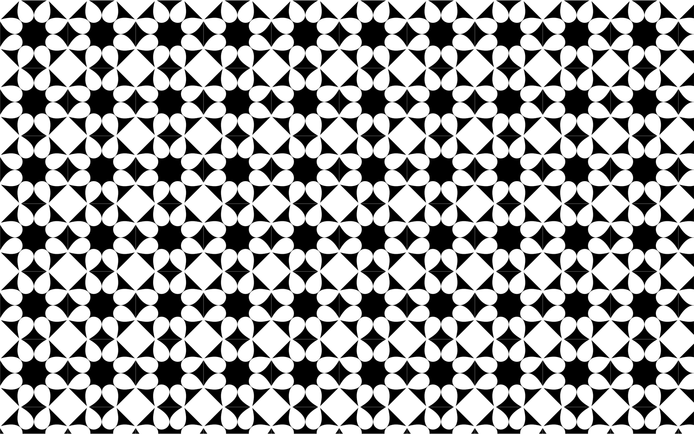Seamless monochrome floral pattern. Flowers clipart texture