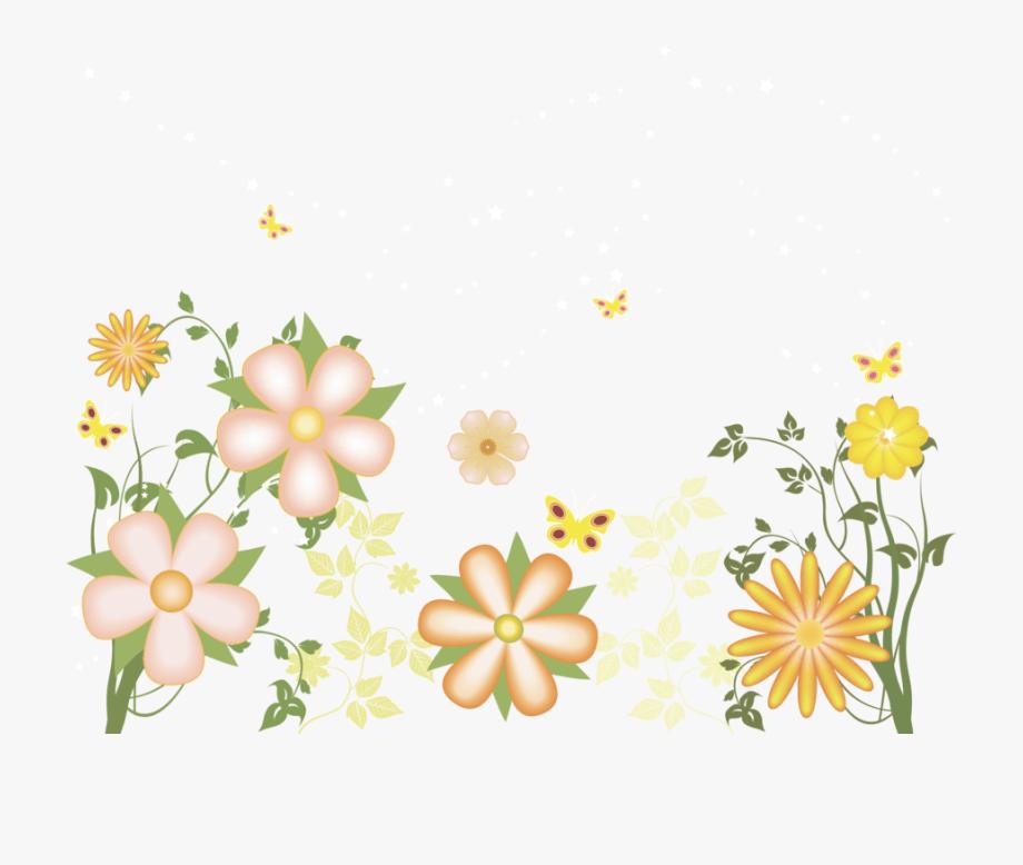 Free . Flower clipart transparent background