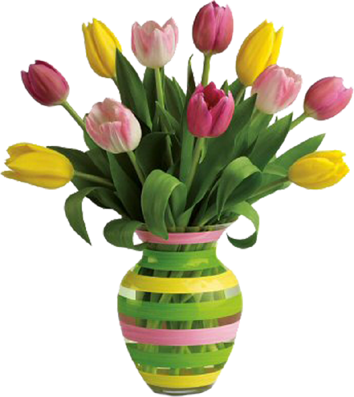 collection of clipart. Flower vase png