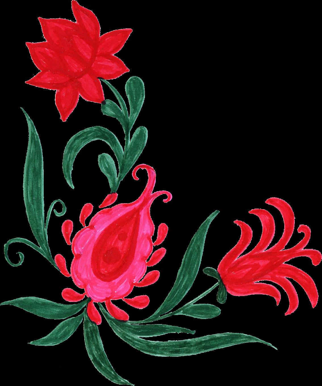 colorful transparent onlygfx. Flower corner png