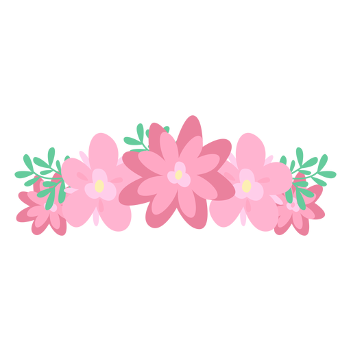 Pink clipart pinterest crowns. Flower crown png